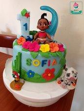 Cake Topper Oceania