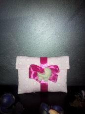 Porta confetti in stoffa