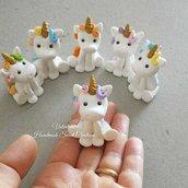Bomboniera unicorno fatto a mano