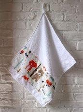 Asciugamano in cotone con nome