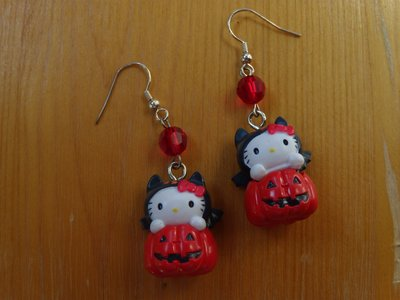 Orecchini Hello Kitty Speciale Halloween