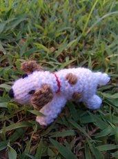 Jack Russel Terrier realizzato in pura lana vergine e imbottitura in kapok