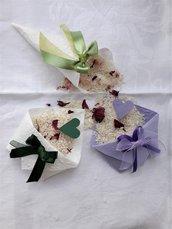 coni e bustine  porta riso , porta-confetti in carta di riso per matrimoni, confettate