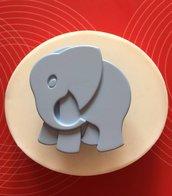 "Stampo silicone ""elefantino"" cm.5"