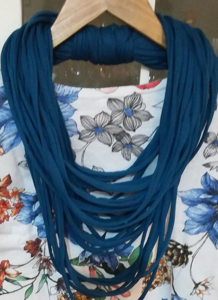 Collana sciarpa estate  scarf donna scaldacollo regalo