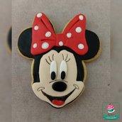Biscotto decorato Minnie