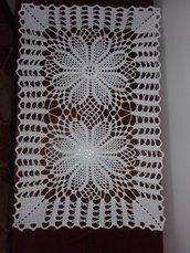 Centrino rettangolare centrotavola runner cm cotone uncinetto decorazione casa idea regalo