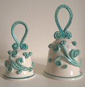 Campanelle in ceramica