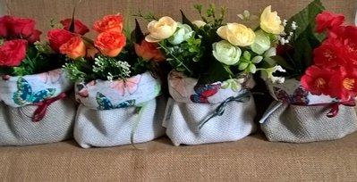 Decorazione con fiori idea regalo casa