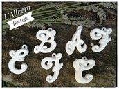 Gessetti profumati Alfabeto Corsivo- Disponibili tutte le lettere
