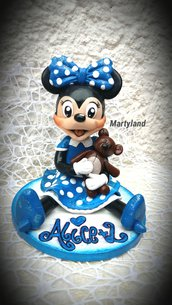 Cake topper personaggi cartoon