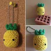 Amigurumi ananas portachiavi