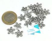 20 cappe a fiore per perle e pietre