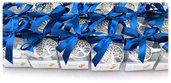 BOMBONIERA PORTACHIAVI SCATOLA PVC 5X5X5 CM ALBERO DELLA VITA MATRIMONIO ANNIVERSARIO COMPLEANNO 18 ANNI CRESIMA COMUNIONE LAUREA