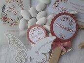 Set confettata personalizzato, adatto a qualsiasi cerimonia, matrimonio, battesimo, nascita, comunione , anniversari, 18 anni, compleanni
