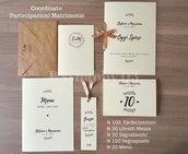 COORDINATO Matrimonio - SHABBY03 - Pacchetto 100
