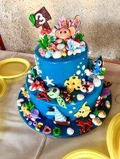 Cake topper Nemo e personaggi e vari gadget marini!