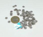 10 gr cappe a rondella argento tibetano