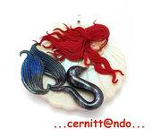 Collanina Sirenetta su conchiglia var. bianca