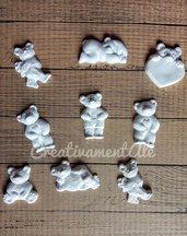 Gessetti - Orsetti in polvere di ceramica di alta qualità
