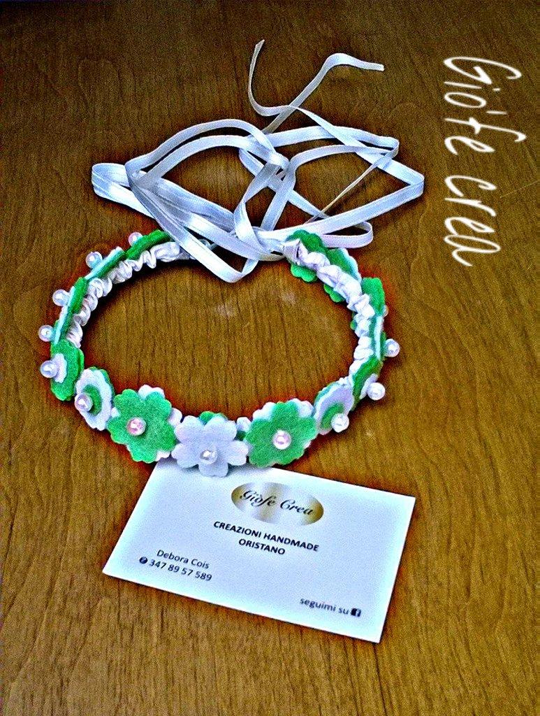 La coroncina bianca e verde 2