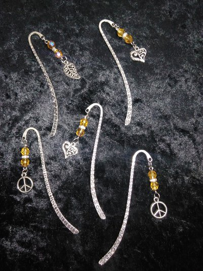 Segnalibro argento tibetano
