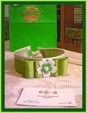 La cinta verde per vestito da damigella!