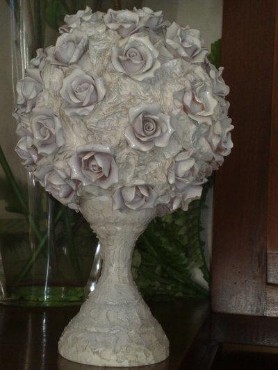 sfera di rose