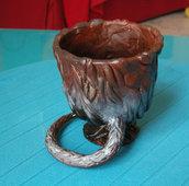 la coppa in cui il topo Crosta viene trasformato da Ron Weasley - harry potter