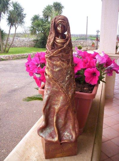 statuetta in powetex