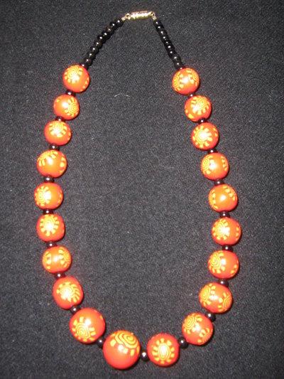 Collana handmade in Cernit