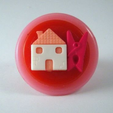 "anello bottone ""casalinga"""