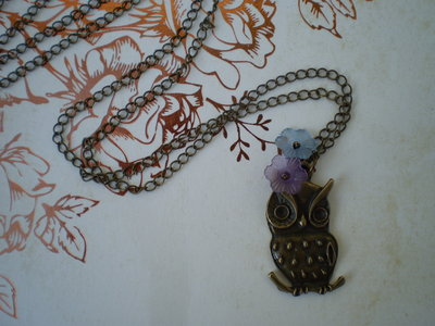 Collana Owl - Bronze Collection