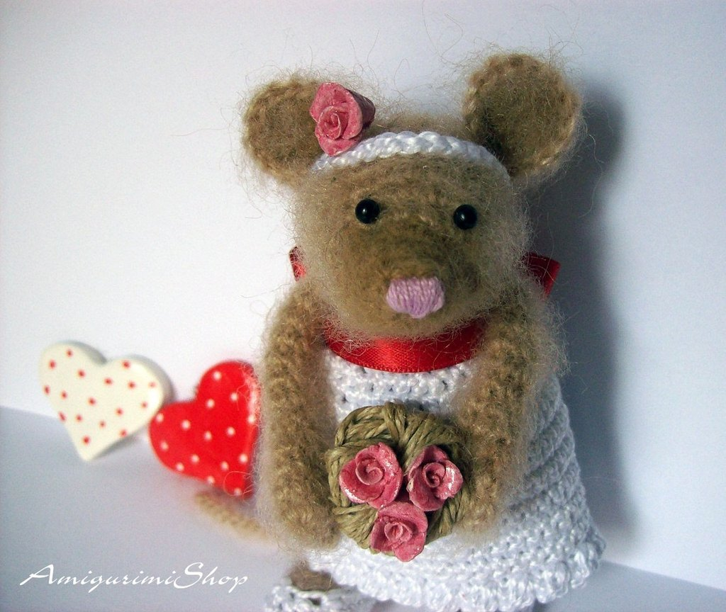 San Valentin Mouse Pattern