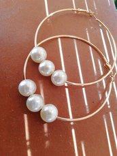 Cerchi con perle