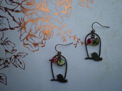 Orecchini Bird #2 - Bronze Collection