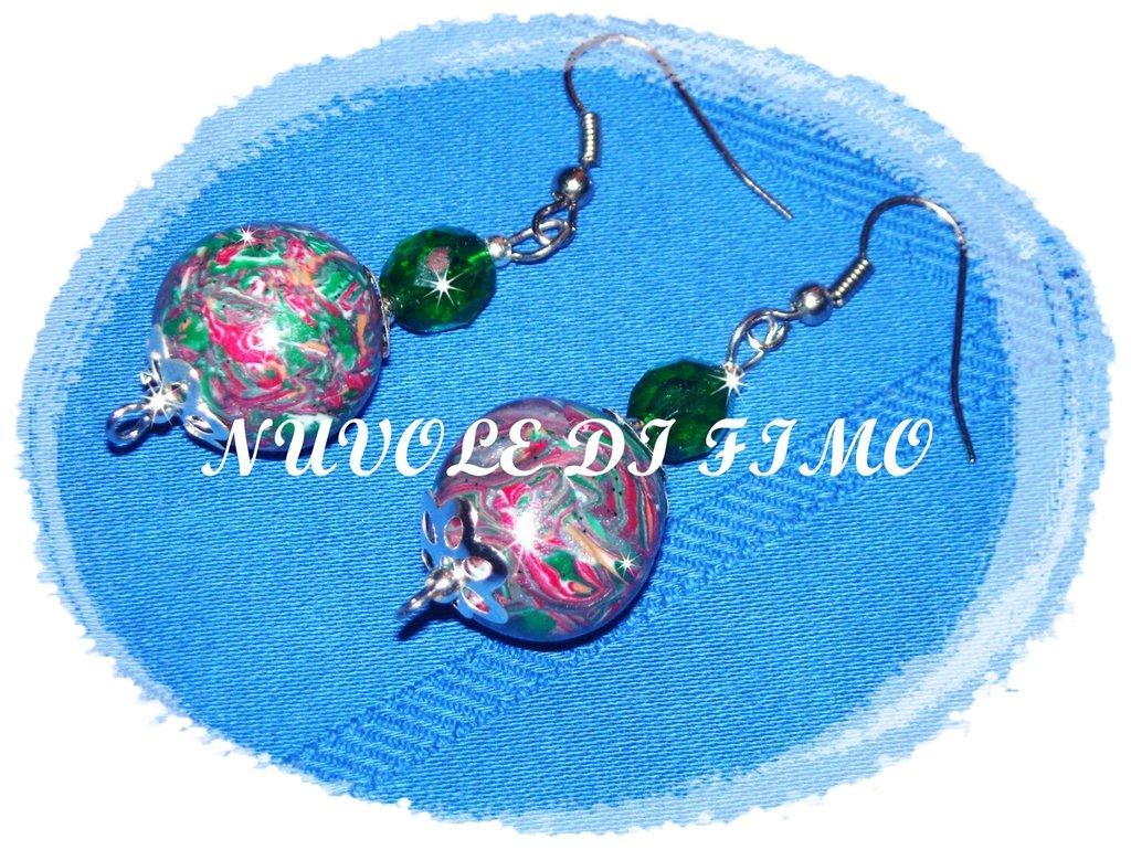 Orecchini sfera