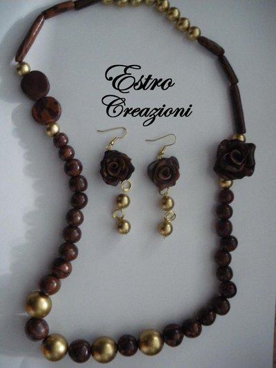 collana e orecchini luxury