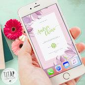 Save The Date Digitale- Invito Nozze Digitale - Invito whatsapp - save the date whatsapp