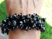 Il braccialetto tutto nero
