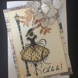 Card auguri Paris