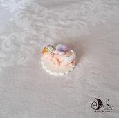 Bomboniera fatina bimba neonato nascita e battesimo segnaposto complemento decorativo