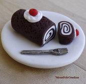 Magnete calamita dolce tronchetto di cioccolato