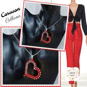 Collana con ciondolo Corazon – Linea Cuore - Art. 181a