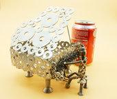 pianoforte acciaio pianista pianoforte a coda scultura pianoforte scultura  pianista  Art metal riciclo art of recycling arte del riciclo