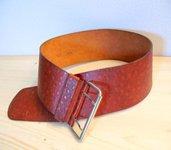 Cinturone in cuoio vintage - cintura in pelle