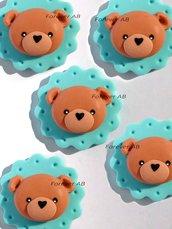 Orso orsetto nascita battesimo compleanno bomboniere bomboniera