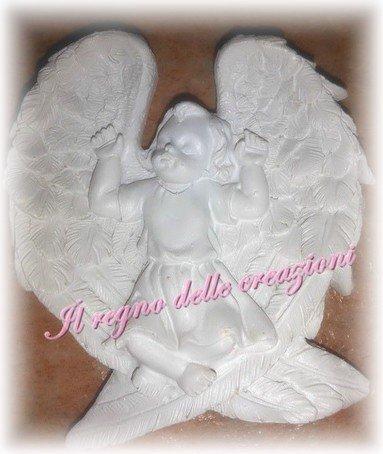 STAMPO ANGELO ALATO IN SILICONE