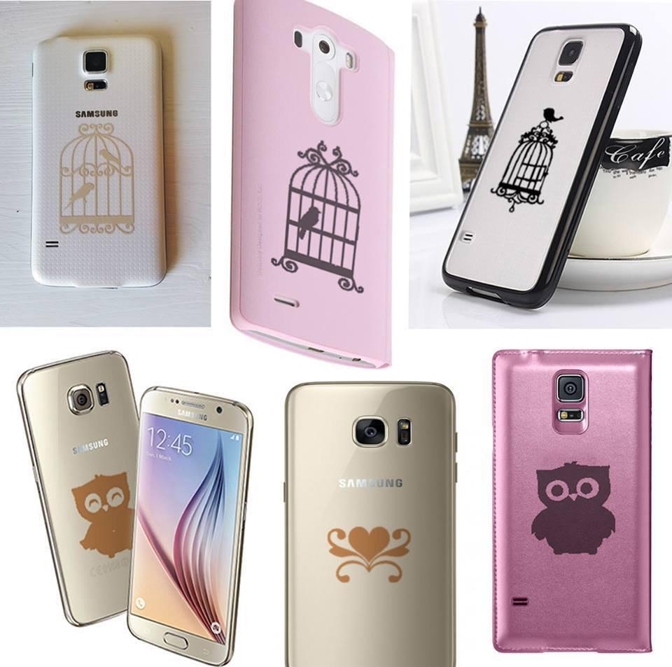 Mini-stickers per cellulari e tablet