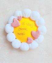 Festa dei nonni magnete fiore